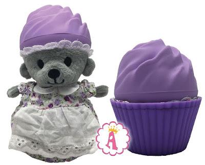 Ароматные капкейки медвежата в кексе