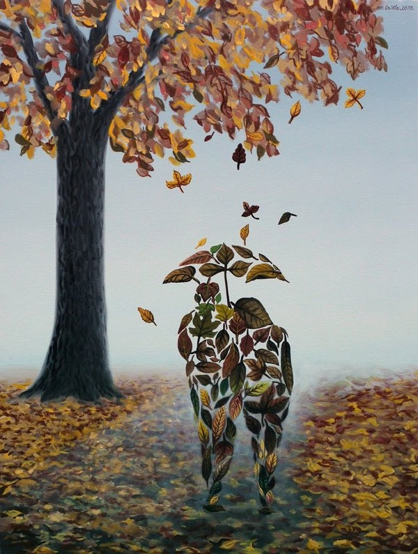 05-Promenade-of-Autumn-Mihai-Criste-Symbology-and-Imagination-in-Surreal-Paintings-www-designstack-co