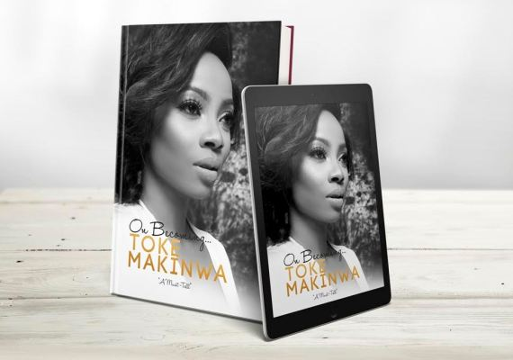 Image result for on becoming toke makinwa book photos