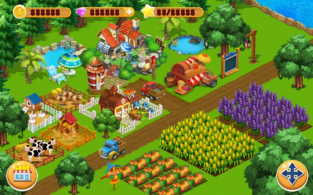 تحميل لعبة المزرعة السعيدة Happy Farm القديمة الاصلية