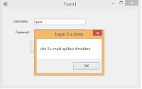 membuat form login di vb