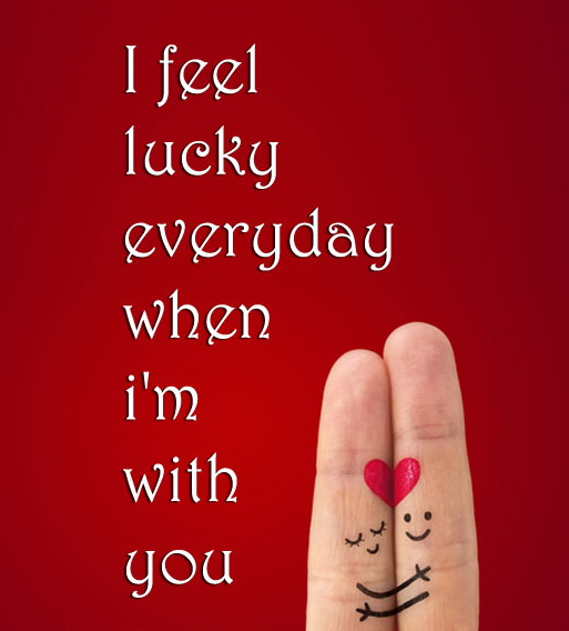 Quotes About Lucky Love