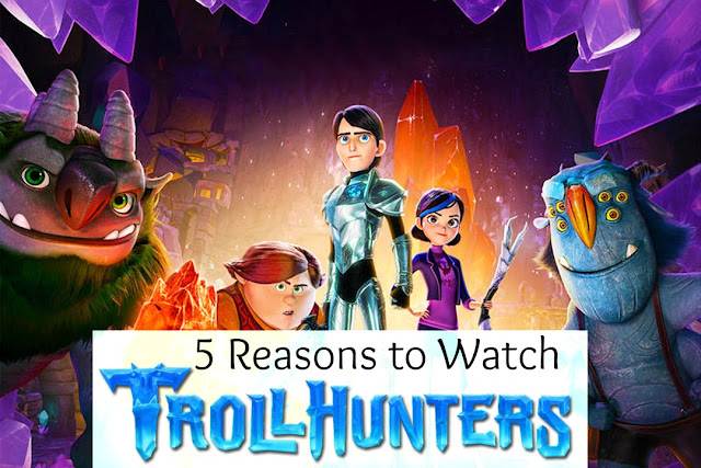5 Reasons to Watch Trollhunters