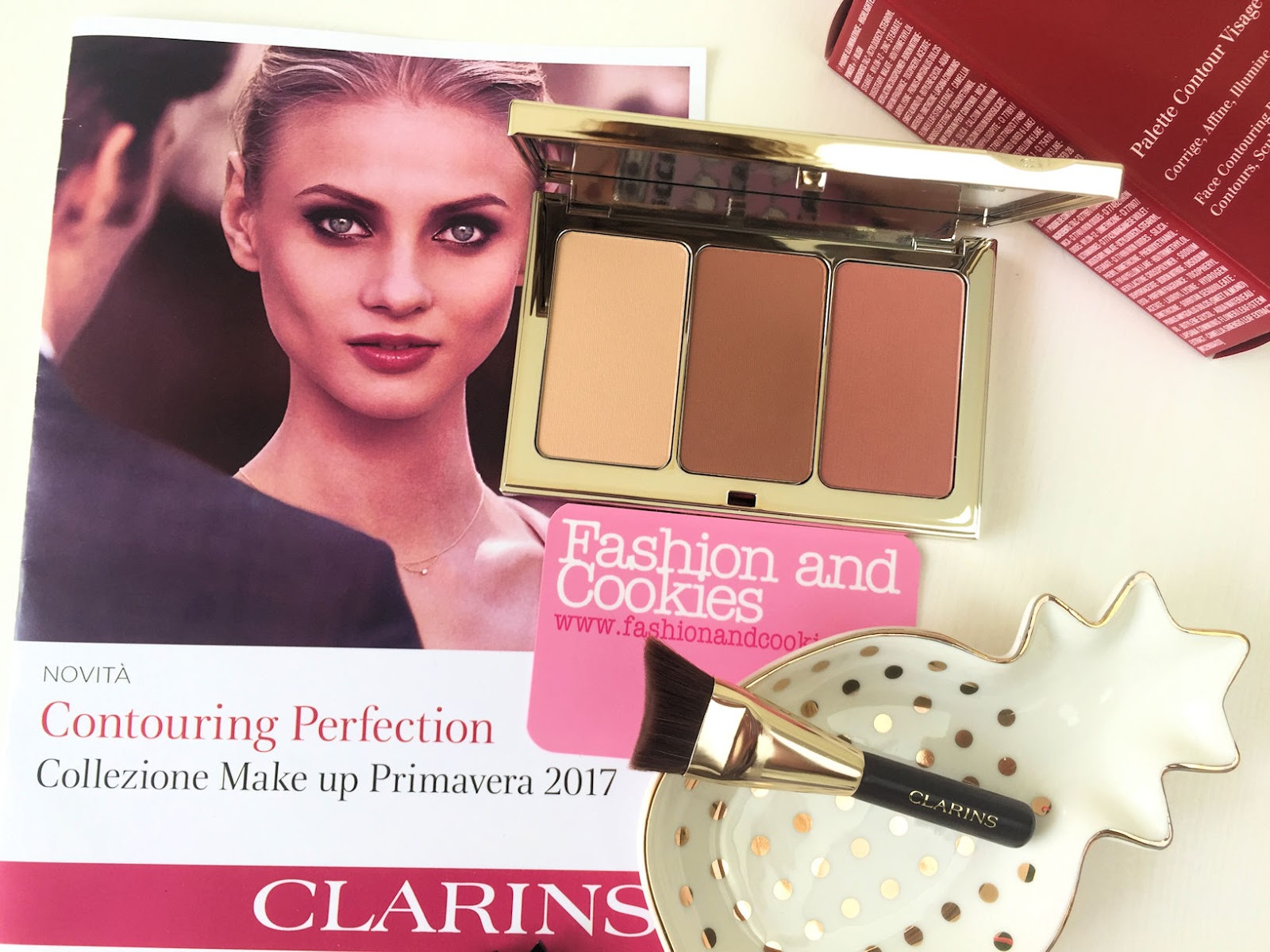 Clarins Contouring Perfection makeup Primavera 2017 review su Fashion and Cookies beauty blog, beauty blogger