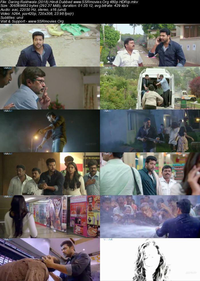 Daring Rakhwala (2018) Hindi Dubbed 480p HDRip