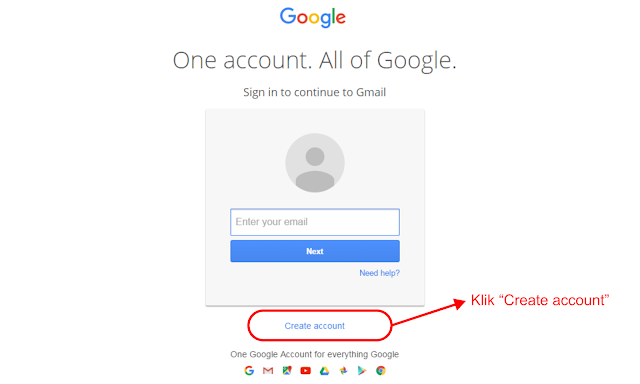 Cara Membuat Email Gratis di Gmail.com