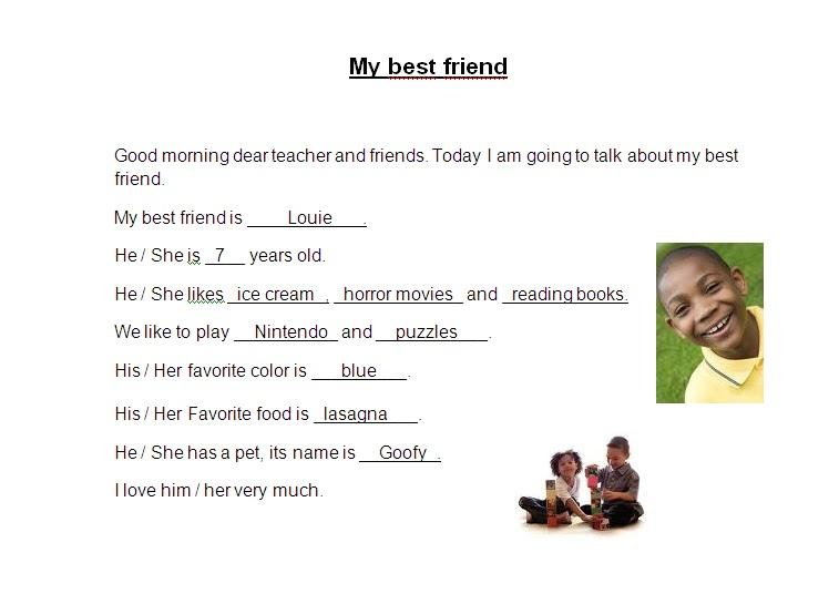classzone my best friend essay for th class