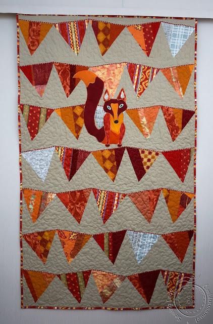 lapitekk lapsele, fox quilt
