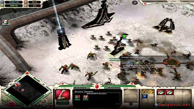 Warhammer 40000 Dawn of War Winter Assault Gameplay Screenshot 3