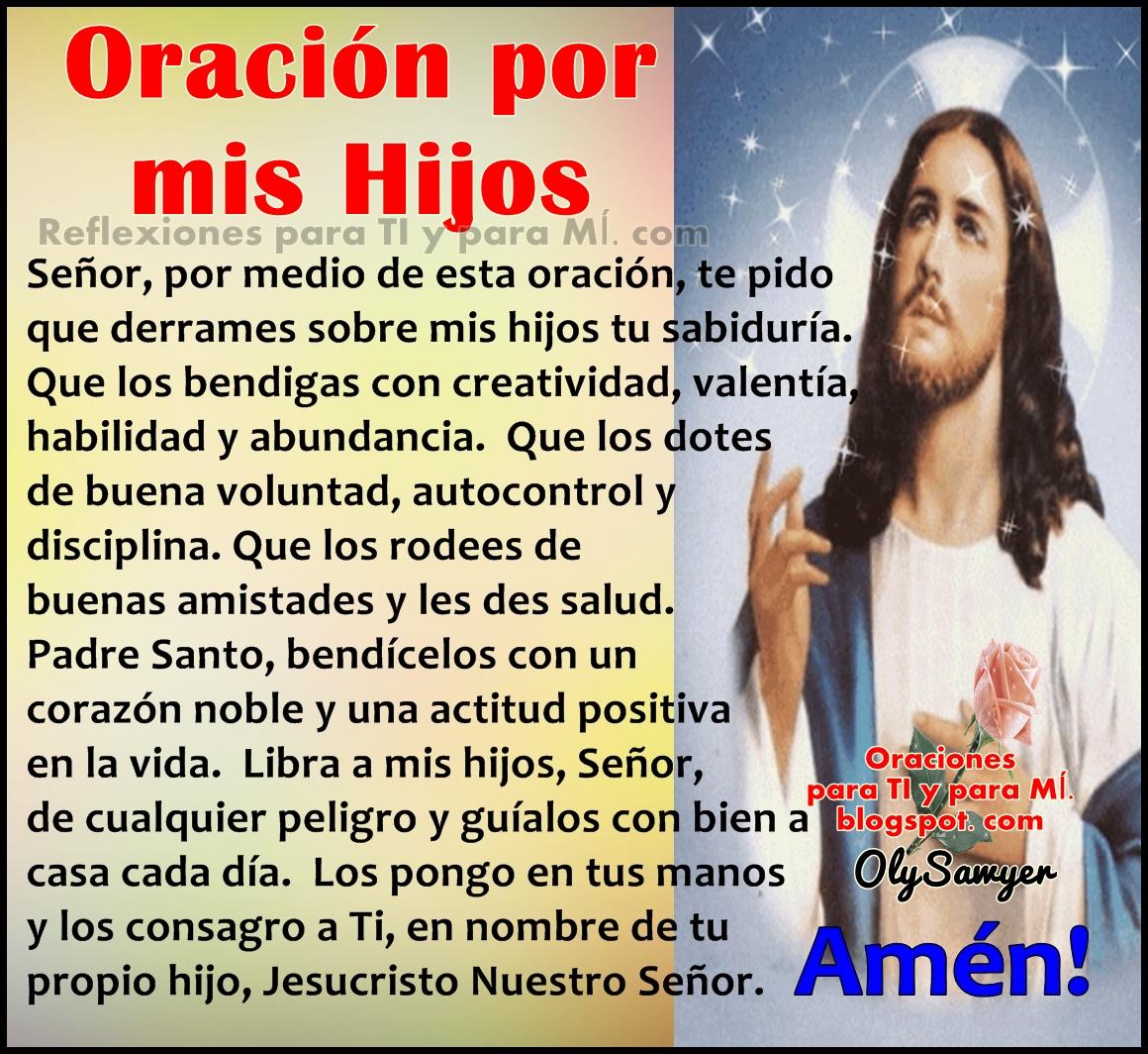 Oraciones para ti y para m oraci n por mis hijos for En tus manos senor