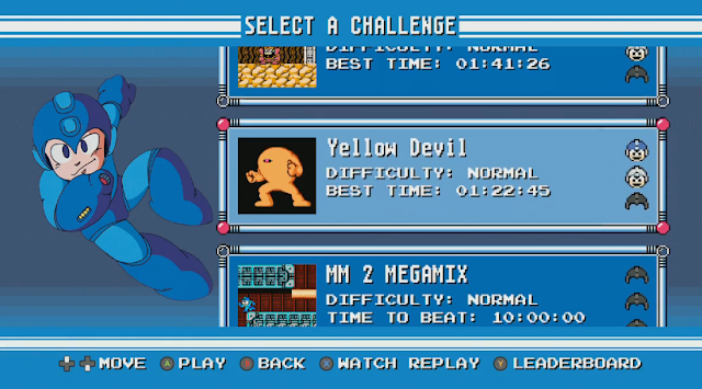 Mega Man Legacy Collection Yellow Devil challenge