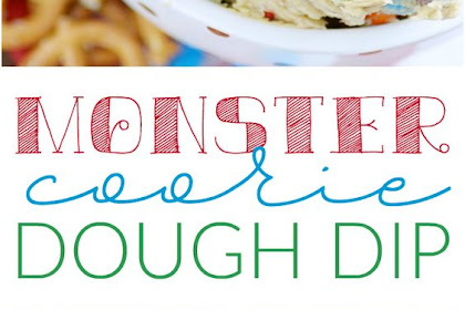 Monster Cookie Dough Dip (the original recipe)