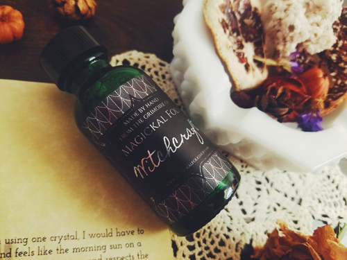 Magickal Folk Box Review: November: Crystal Alchemy Kit Ritual Oil