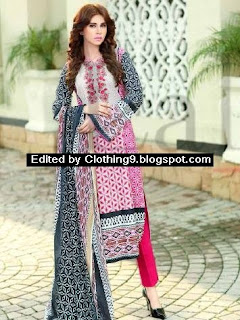 Lala Classic Cotton Embroidered Eid Suits