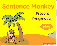 Resultado de imagen de present continuous grammar