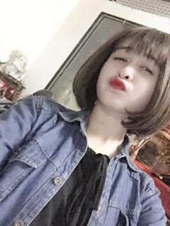 Gái xinh facebook Trinh Mụi Mụi