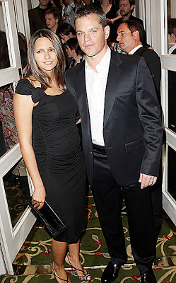 Hollywood Stars: Matt Damon With His Wife Luciana In These ...