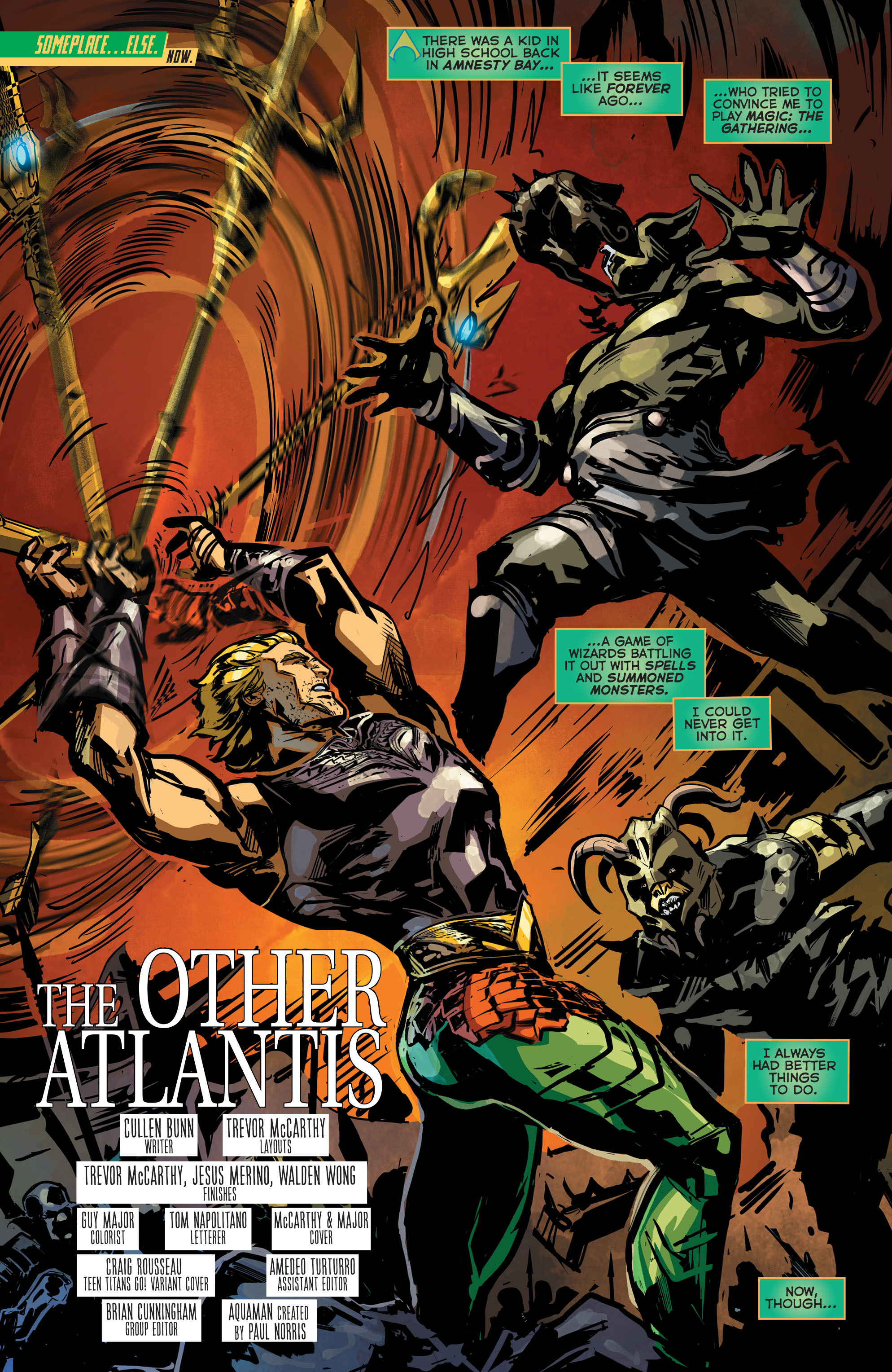 Read online Aquaman (2011) comic -  Issue #42 - 4
