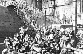 Gran emigración europea siglo XIX