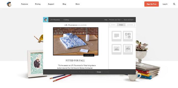 Software Internet Marketing MailChimp