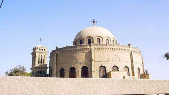 السيطرة على حريق هائل بكنيسة القديسة دميانة بمحافظة الدقهلية