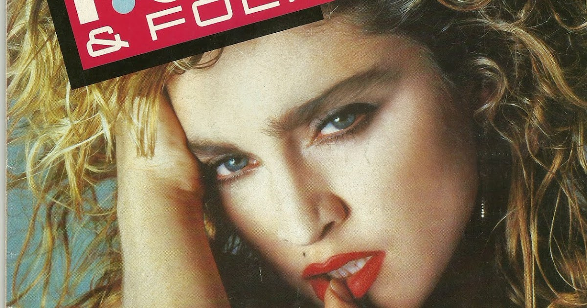 Pud Whackers Madonna Scrapbook Rock And Folk Magazine 1987