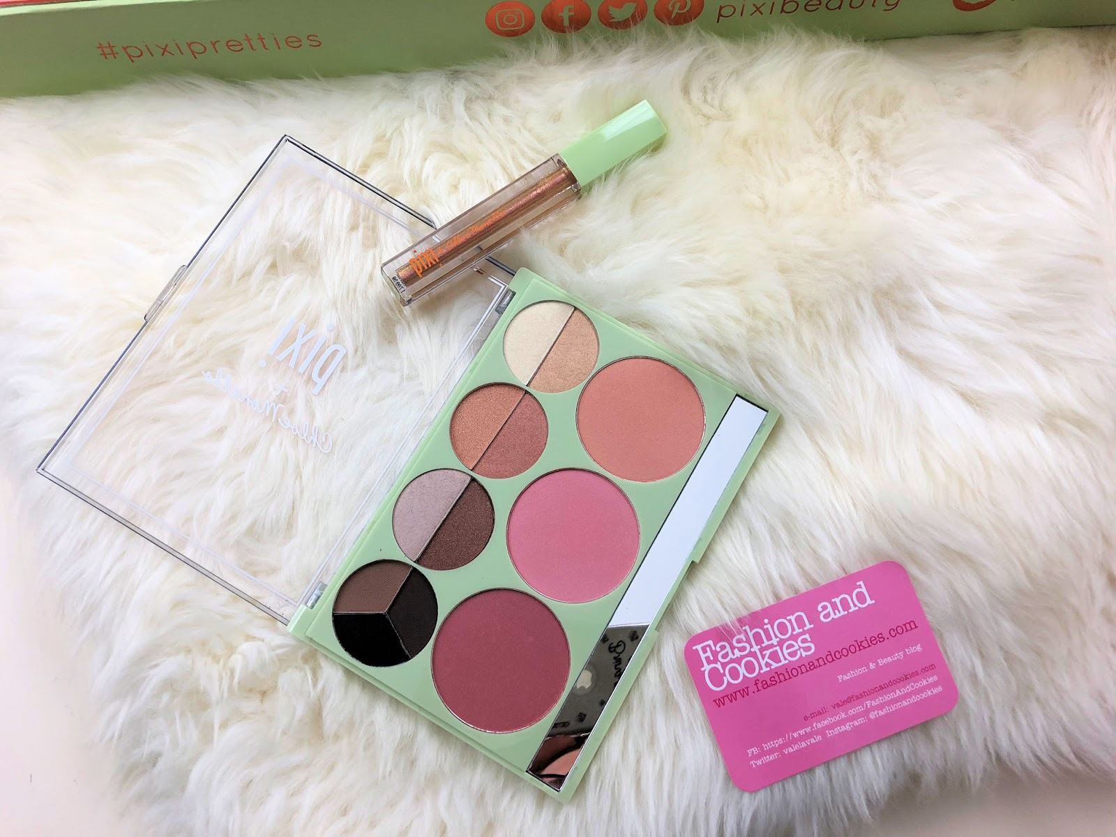 PIXI Beauty Spring 2018 makeup collection: Pixi Pretties on Fashion and Cookies beauty blog, beauty blogger