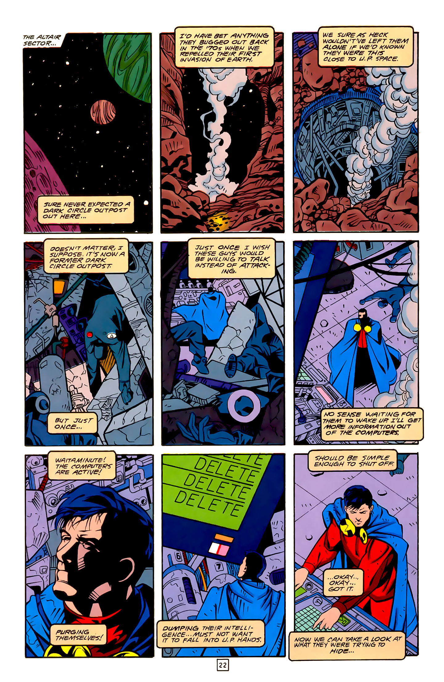Legion of Super-Heroes (1989) 22 Page 22