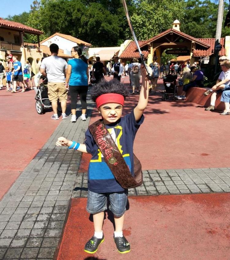 Pirata na Disney
