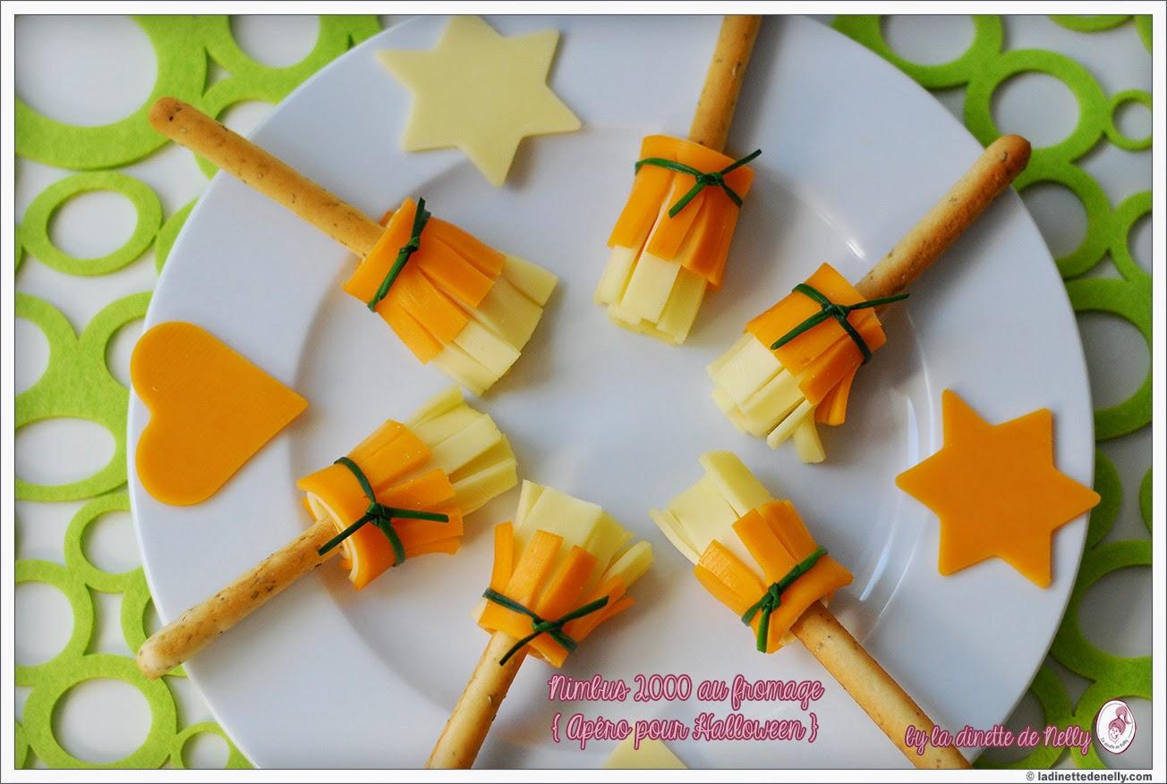 Recette Apéro Halloween : la dinette de nelly nimbus 2000 au fromage apero halloween ~ Melissatoandfro.com Idées de Décoration