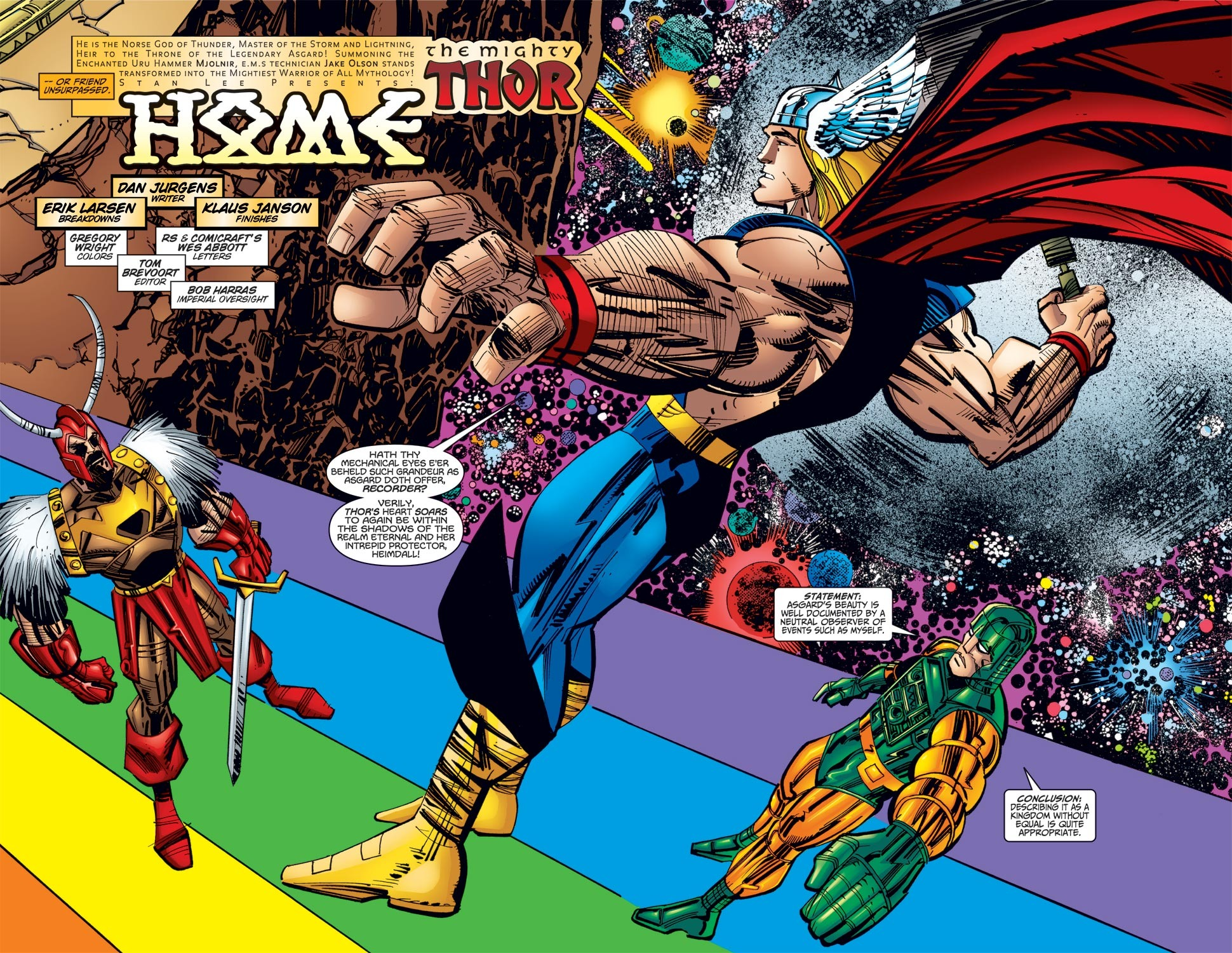 Thor (1998) Issue #26 #27 - English 3