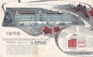expo 1906 piazza VI febbraio