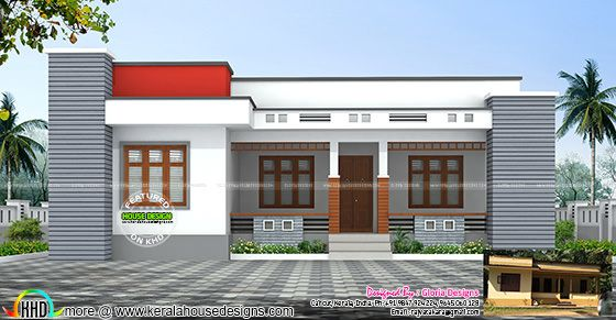 Single floor house renovation plan