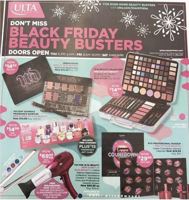 ULTA Beauty Black Friday 2017 Ad