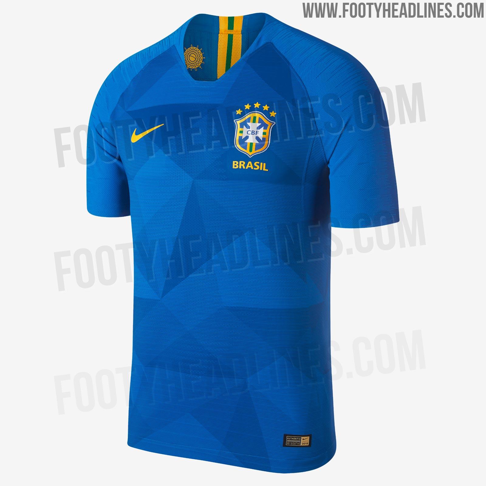 eeb864eccb4 Nike Brazil 2018 World Cup Home   Away Kits Released