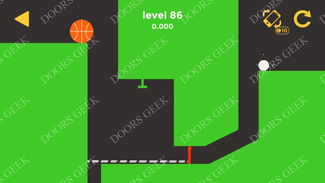 Ball & Ball Level 86 Solution, Walkthrough, Cheats for android and ios