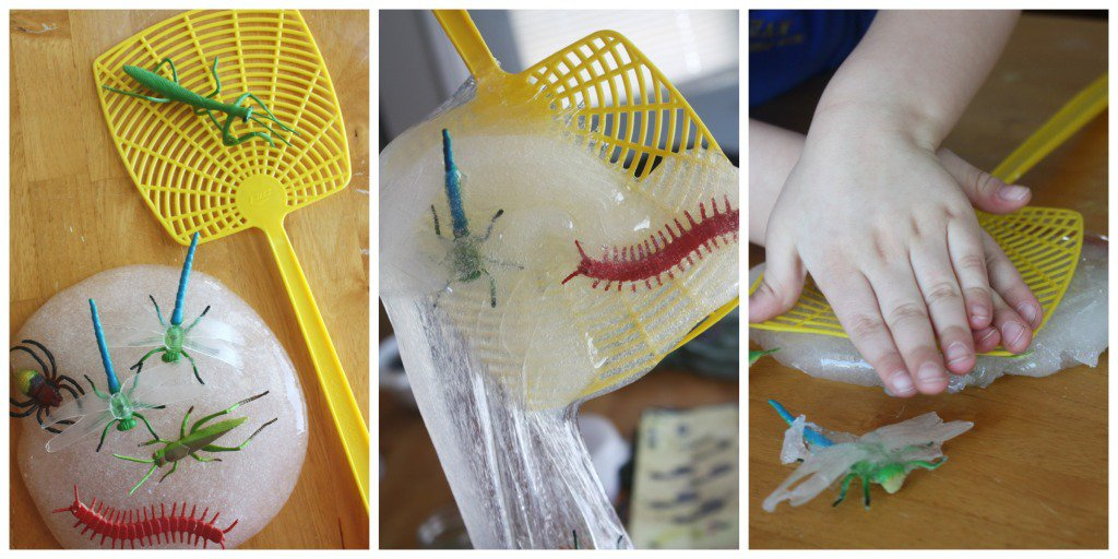 Bug Slime Sensory activities for kids