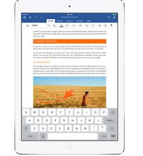 word su iPad