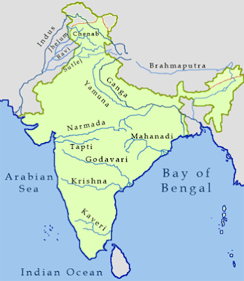Indian States Touching International Borders  - Geography - CBSE Class 6/7/8/9/10/NTSE/CTET -