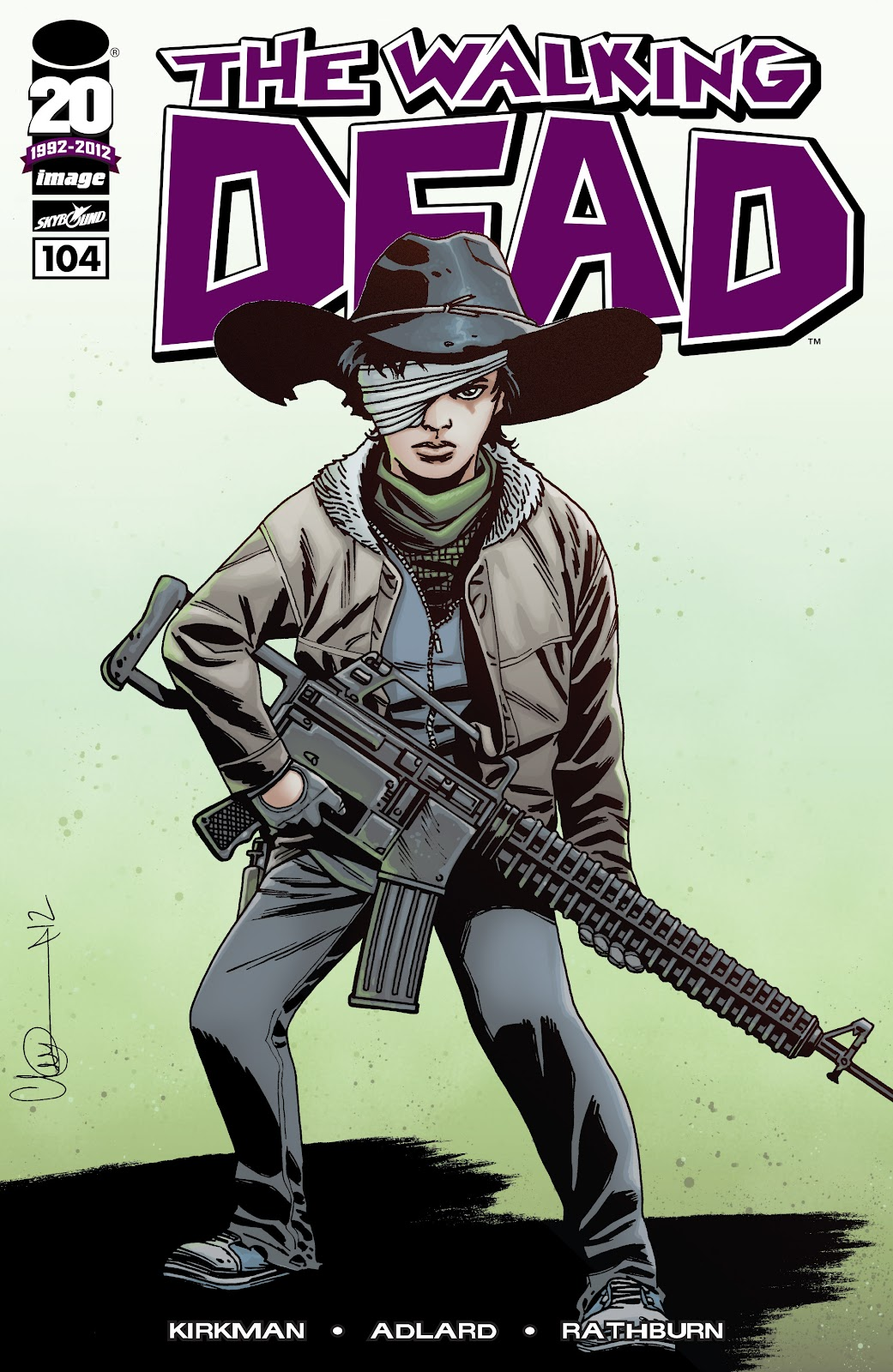 The Walking Dead issue 104 - Page 1