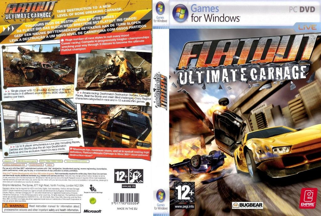 Patch flatout ultimate carnage pc : loykrischar