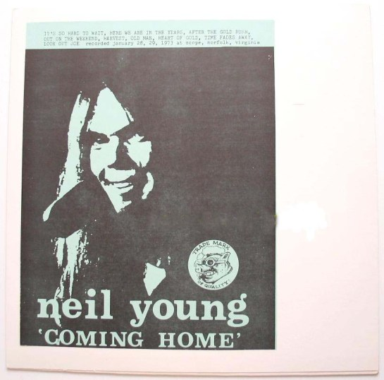 tommy 39 s beach classic neil young vinyl boot coming home. Black Bedroom Furniture Sets. Home Design Ideas