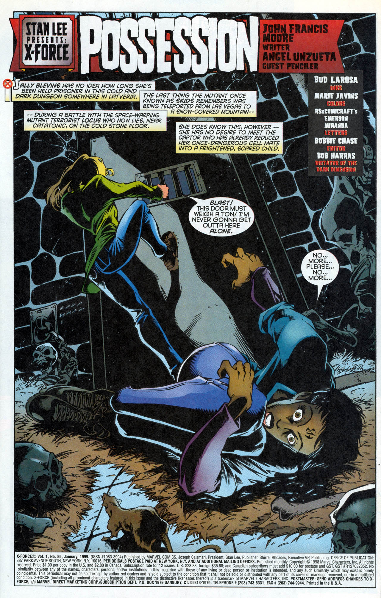 Read online X-Force (1991) comic -  Issue #85 - 4