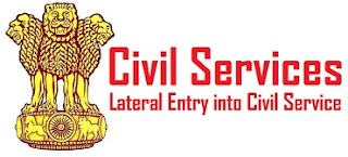 Lateral Entry into Civil Service