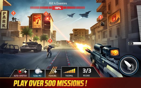 Download Game Kill Shot Bravo V2.9.1 Apk Mod Ammo/No Recoil For Android 2