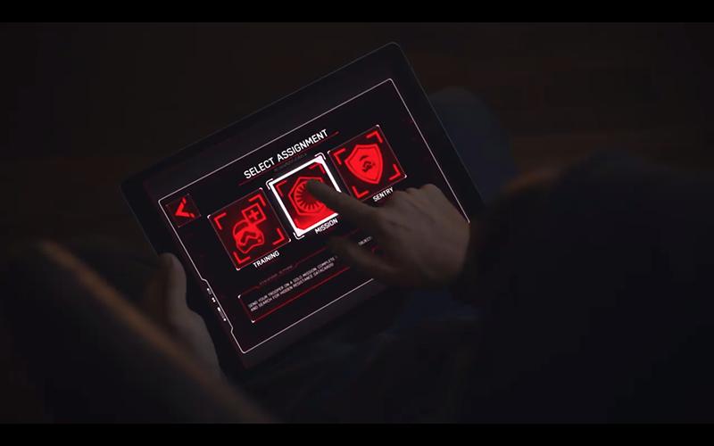 Stormtrooper's companion app UI