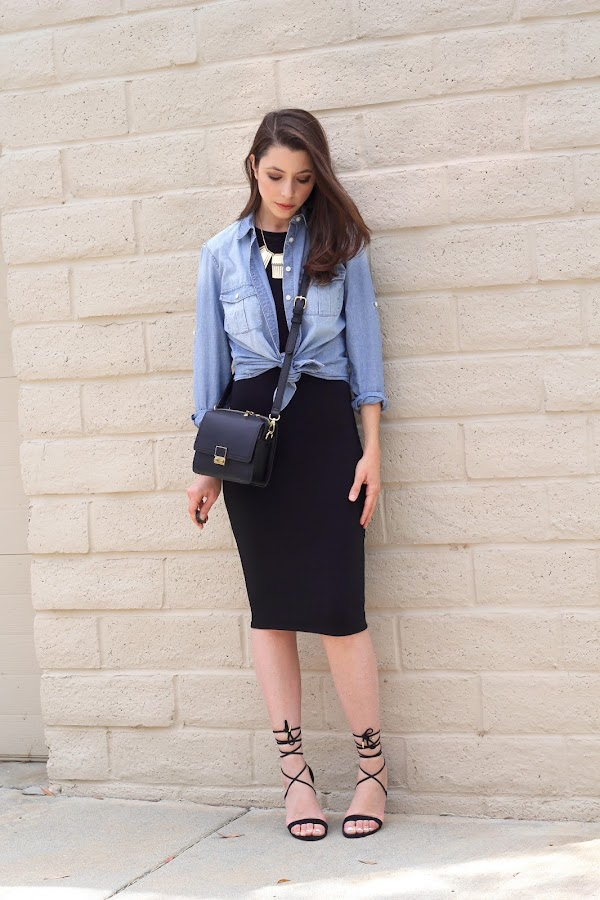 Chambray Shirt Outfit