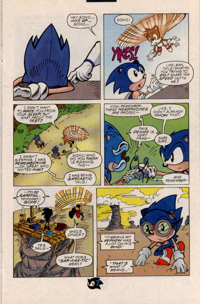 Read online Sonic The Hedgehog comic -  Issue #54 - 8