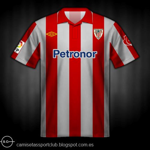 0f582302e8 La camiseta del Athletic Club a lo largo de la historia   ⋆ GOL ...