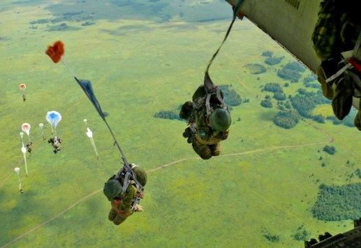 Прыжки в войсках ВДВ